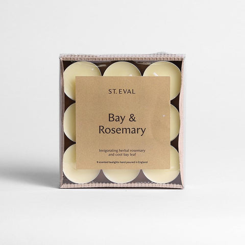 Bay and Rosemary Scented Tea Lights
