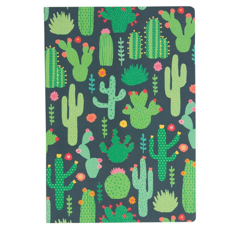 Colourful Cactus Notebook