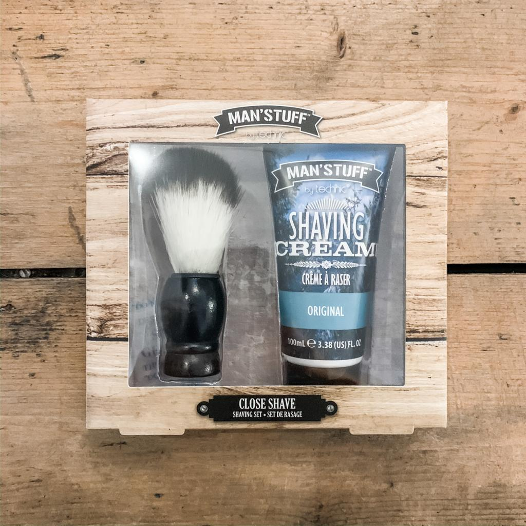 Man's Stuff Close Shave Shaving Set
