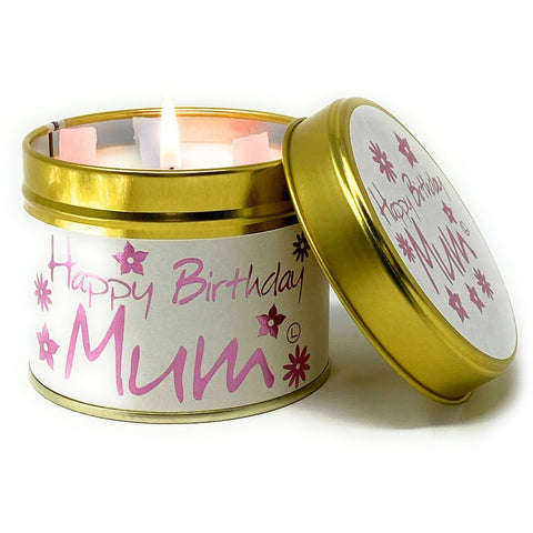 Happy Birthday Mum Scented Candle