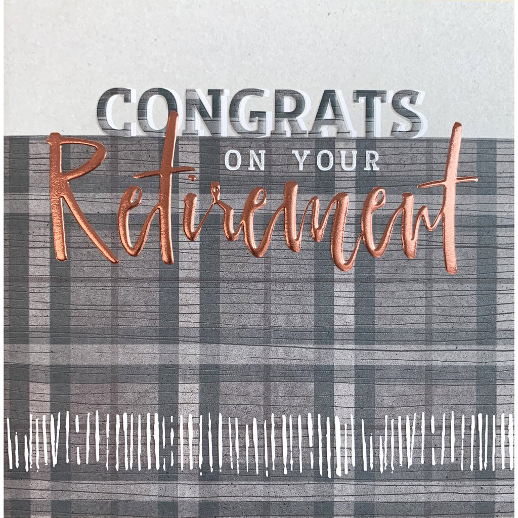 Congrats on Your Retirement Card