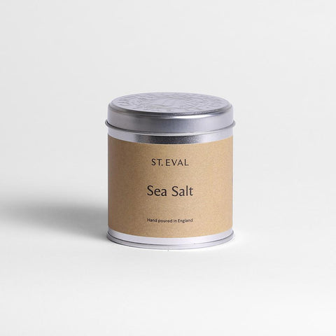 Sea Salt Scented Tin Candle