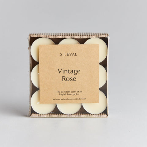 Vintage Rose Scented Tea Lights