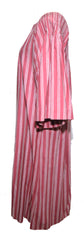 Marimekko 1970s Rose Striped Tunic Dress Dress Lord & Taylor Philadelphia Vintage and Textiles - 2