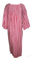 Marimekko 1970s Rose Striped Tunic Dress Dress Lord & Taylor Philadelphia Vintage and Textiles - 3