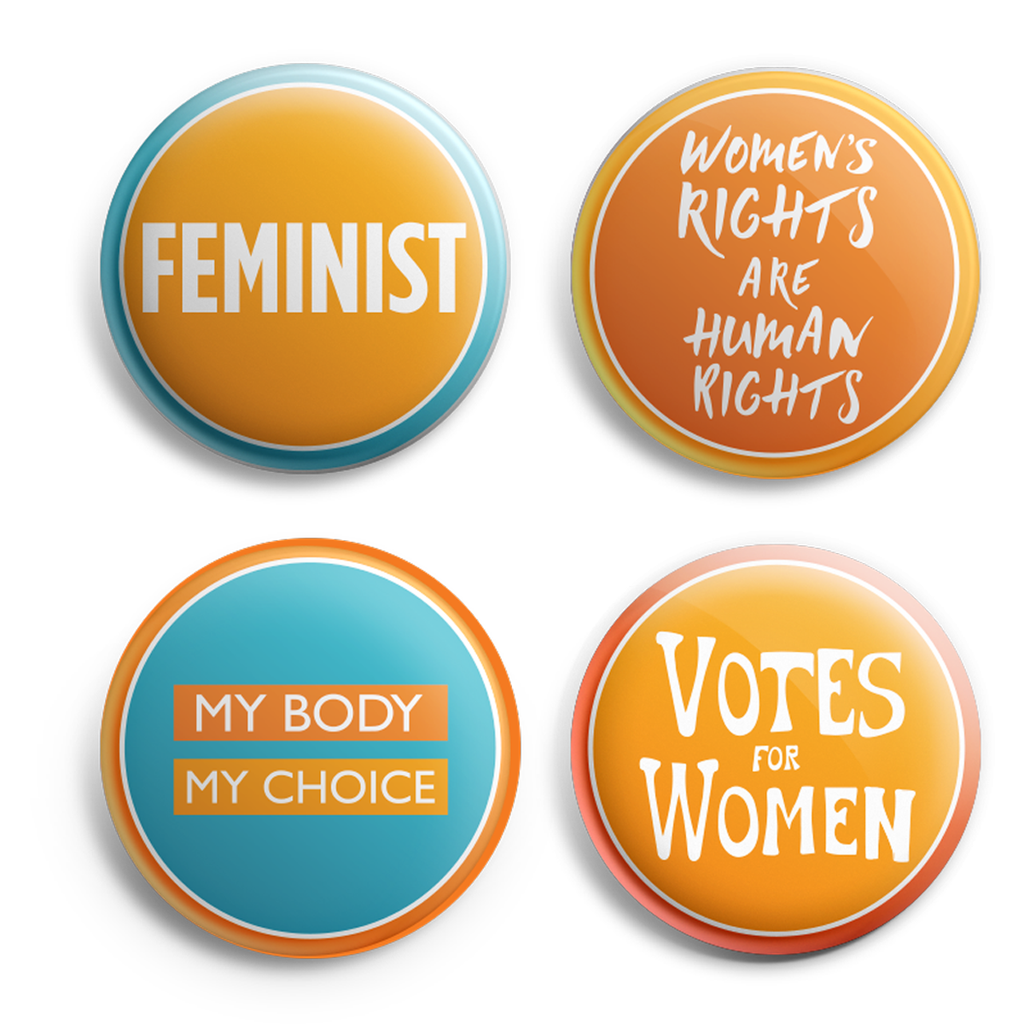 Women's History buttons