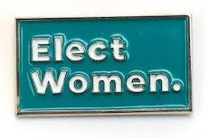Elect Women Lapel Pin