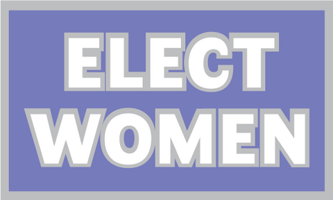 Elect Women Lapel Pin (2021 Edition)