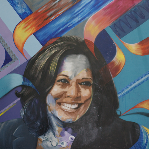 Commemorative Kamala Harris Mural Print