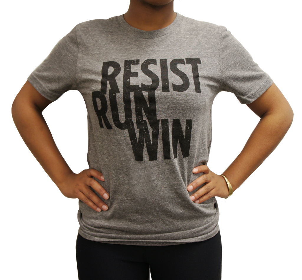 Resist. Run. Win. Tee