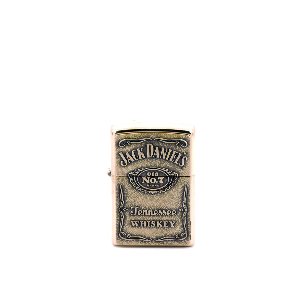 Encendedor Zippo - Jack Daniel's Tennessee Whiskey - Color Bronce Brillante