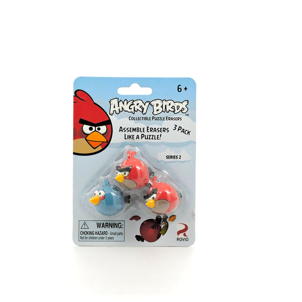 Gomas Armables - Angry Birds - 2 Red y 1 Blue