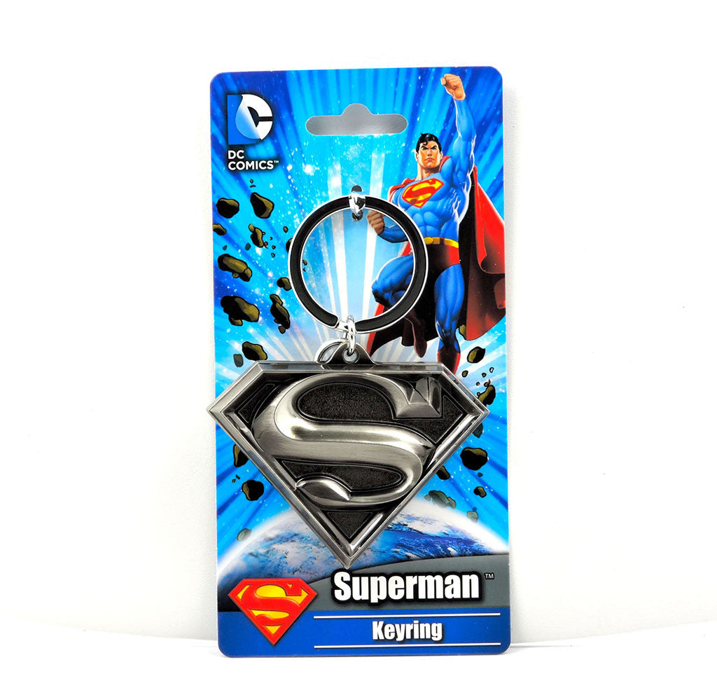 Llavero 3D - DC Comics - Logo Superman