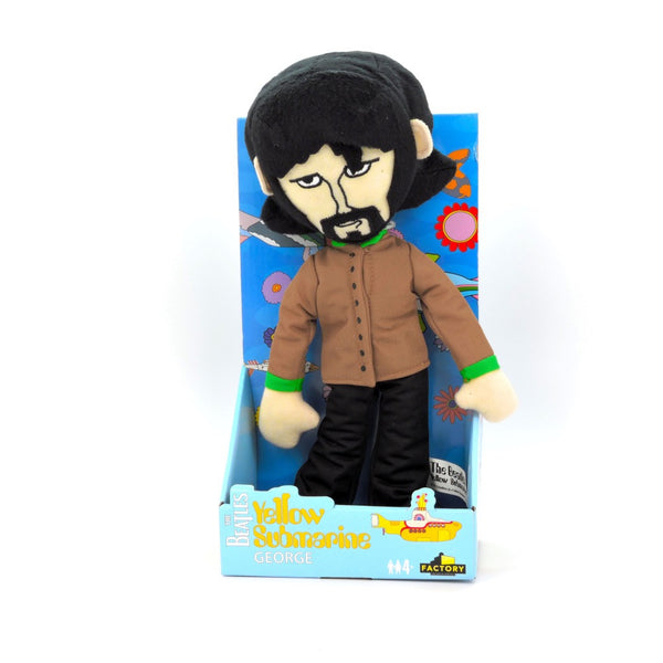 Peluche de Los Beatles - El Submarino Amarillo - George Harrison