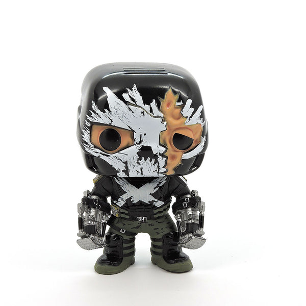 POP! Marvel - Guerra Civil - Crossbones (Daño en Batalla)
