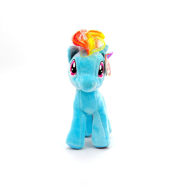 Peluche My Litttle Pony - Hasbro - Rainbow Dash - The Beanie Babies Collection