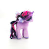 Peluche My Litttle Pony - Hasbro - Twilight Sparkle - The Beanie Babies Collection