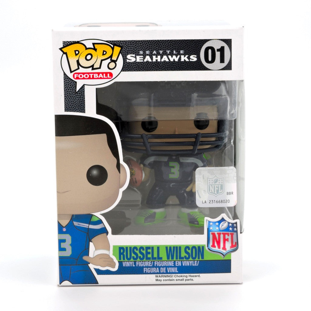 POP! Sports - NFL - Russell Wilson - Halcones Marinos de Seattle