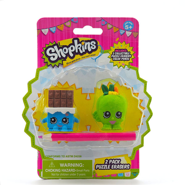 Shopkins - Gomas para Borrar- Apple Blossom - Cheeky Chocolate