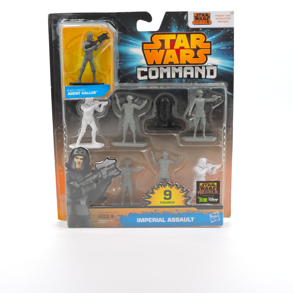 Paquete con 9 figuras de Star Wars Command - Imperial Assault - Hasbro