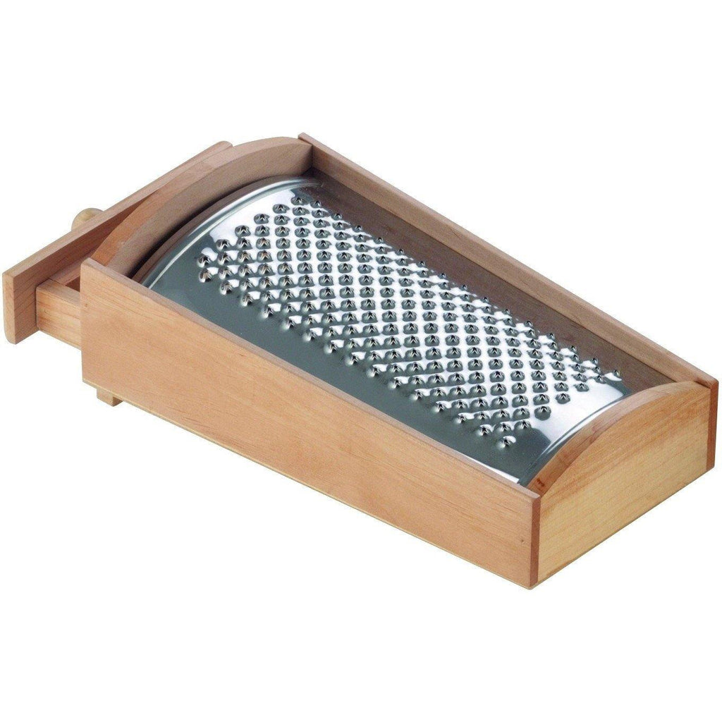 Wooden Cheese Grater Box With Drawer - Pasta Kitchen (tutto pasta)