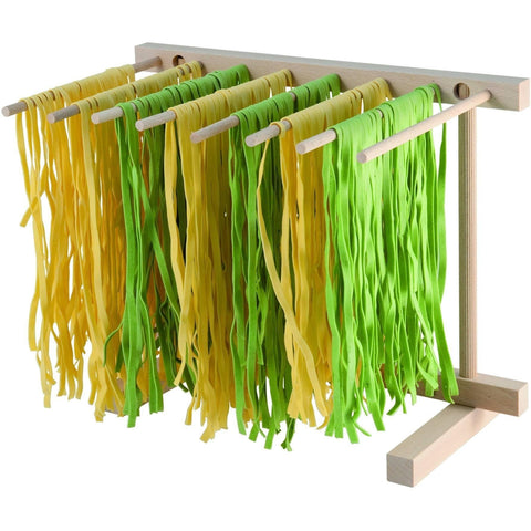 Beechwood Collapsible Pasta Drying Rack - Pasta Kitchen (tutto pasta)