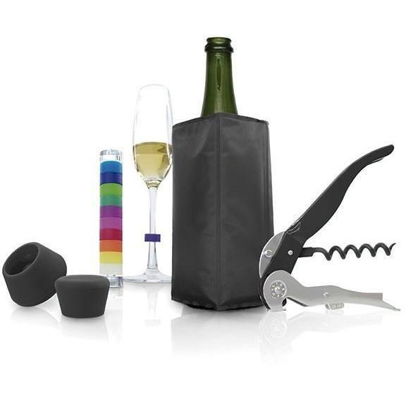 Pulltex Wine & Sparkling Wine Accessories Set - Pasta Kitchen (tutto pasta)