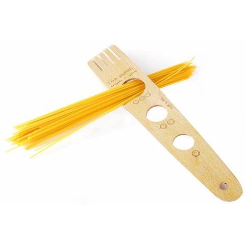 Natural Beechwood Spaghetti Serving Measure - Pasta Kitchen (tutto pasta)