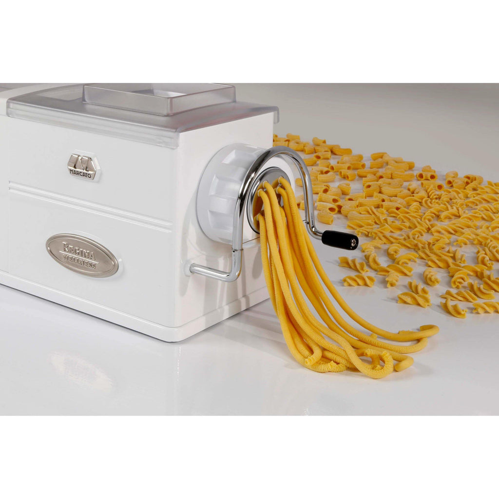 REGINA Pasta Machine for Extruded Pasta Shapes - Pasta Kitchen (tutto pasta)