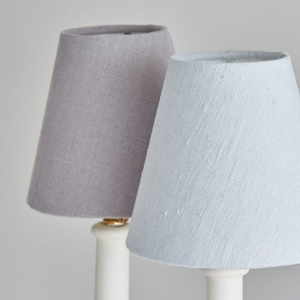 Linen Candle Shades