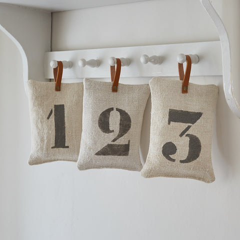 Printed Linen Decorative Hanger