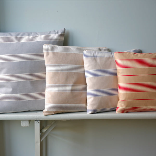 Multi Striped Cushions