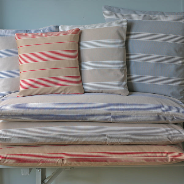 Multi Striped Bench Cushion