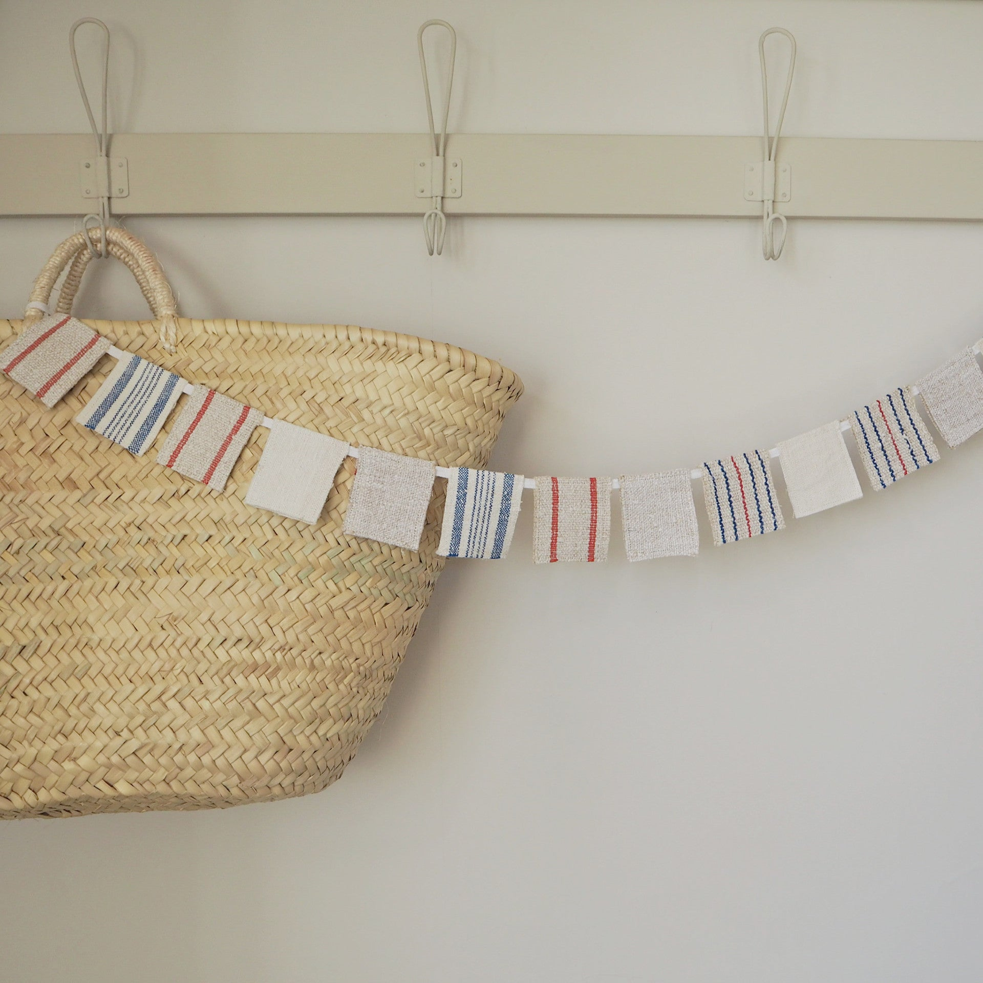 Vintage Grainsack Mini Bunting
