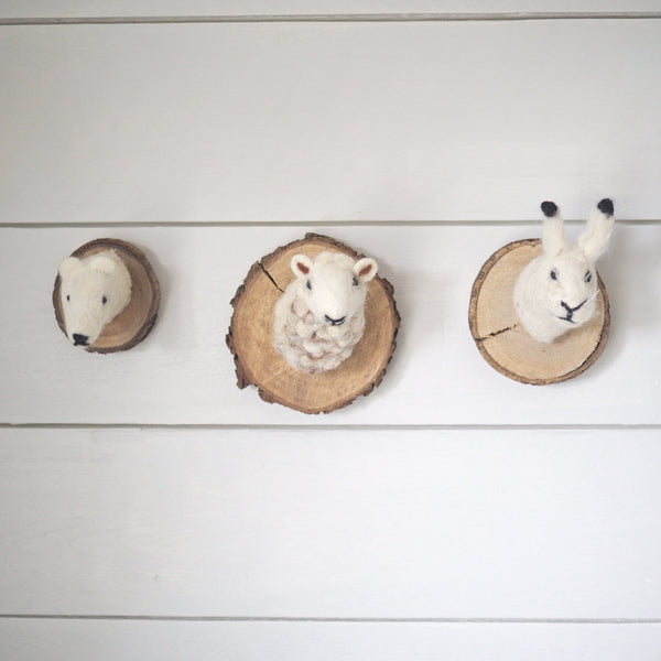 Nordic Animal Wall Plaques