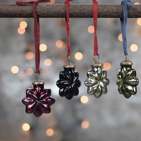 Glass Star Decorations