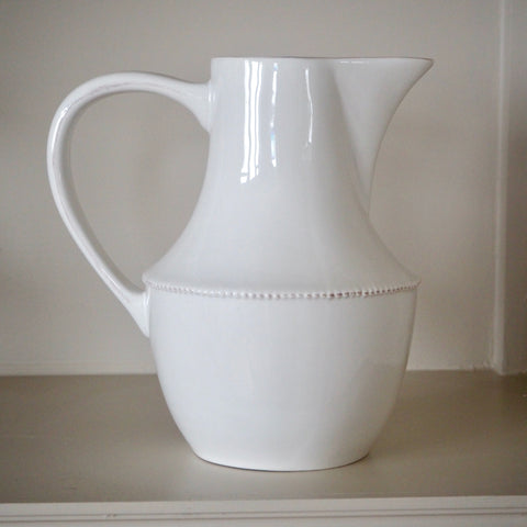 White Pitcher Jug