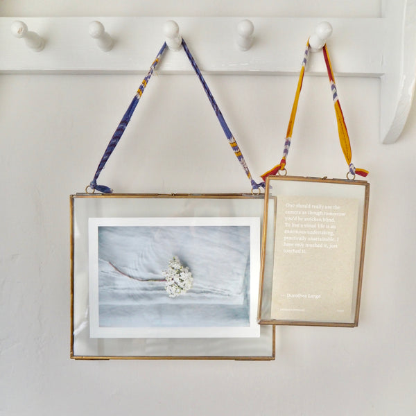 Antique Brass Hanging Frames