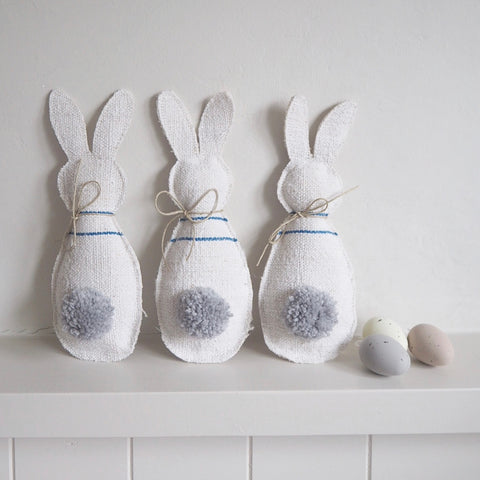 Linen Bunny Decorations