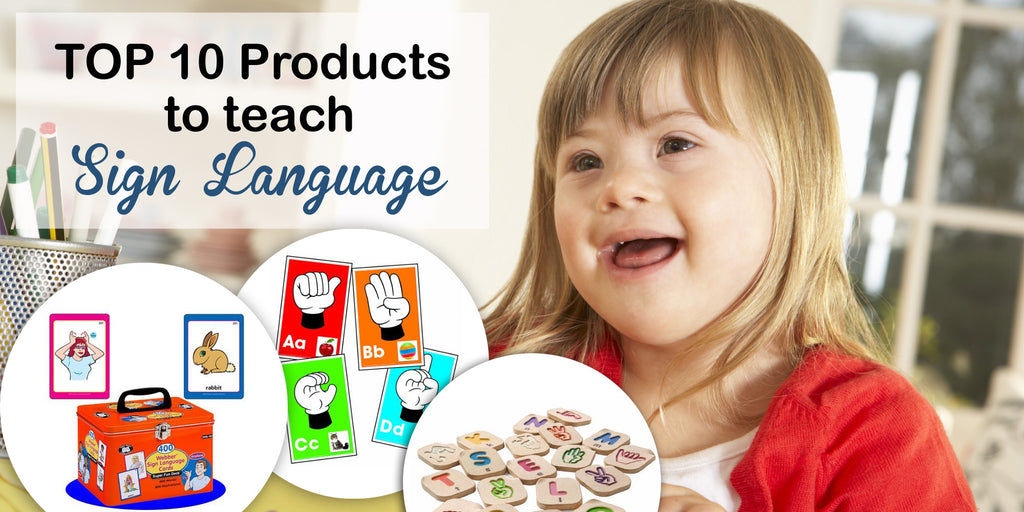 Top 10 Products to teach Sign Language