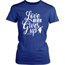 Love Never Gives Up
