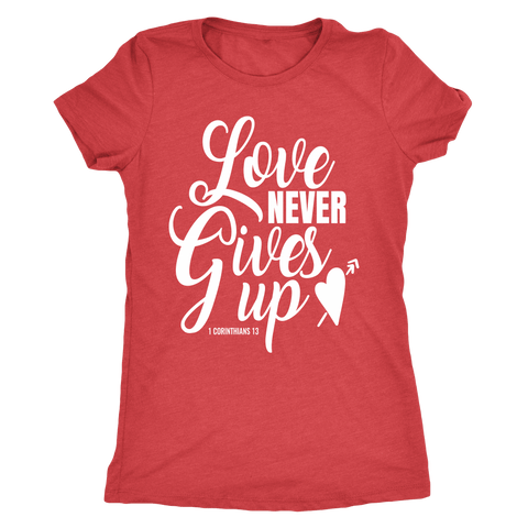 Image of Love Never Gives Up