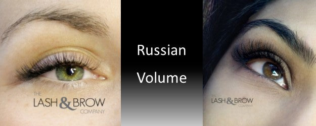 7d344865f61 August is Russian Volume month at The Lash & Brow Company and what an  amazing technique for those with sparse lashes or those who are looking for  the ...