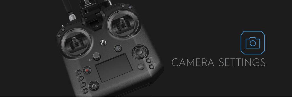 Cendence Remote Controller - Camera Settings