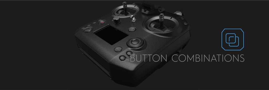 Cendence Remote Controller - Button Combinations