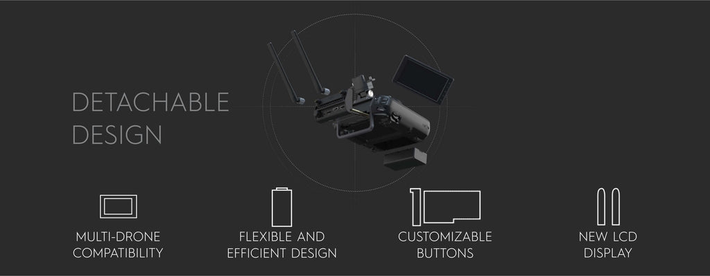 Cendence Remote Controller - Detachable Design