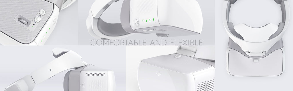 DJI Goggles - Comfortable and Flexible
