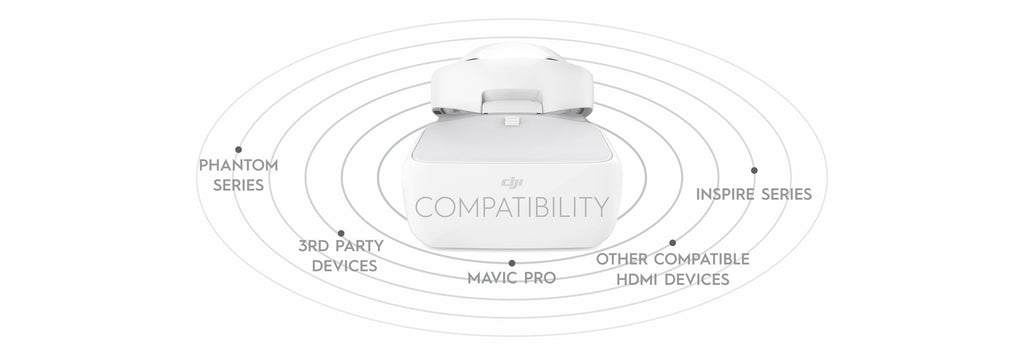 DJI Goggles - Connectivity