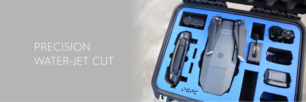 GoPro Mavic Pro Case - Precise Waterjet Cut