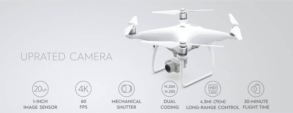 Phantom 4 Pro Adv Uprated Camera